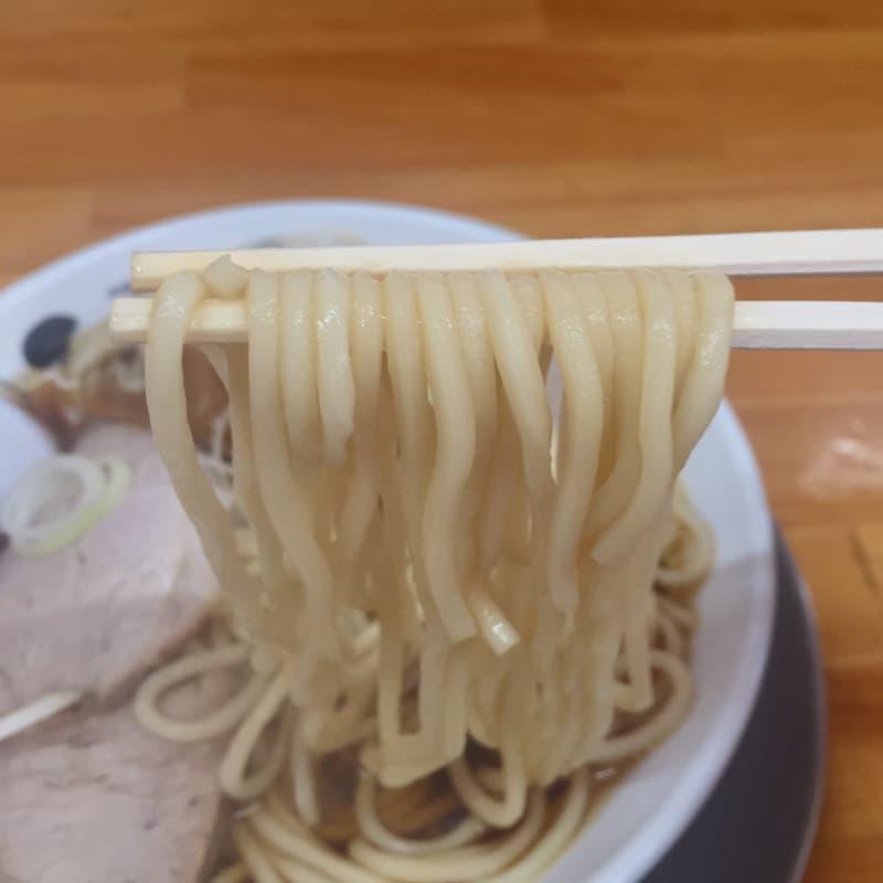自家製麺 中華そば ひらこ屋 青森県青森市 煮干し中華そば(あっさり) 麺