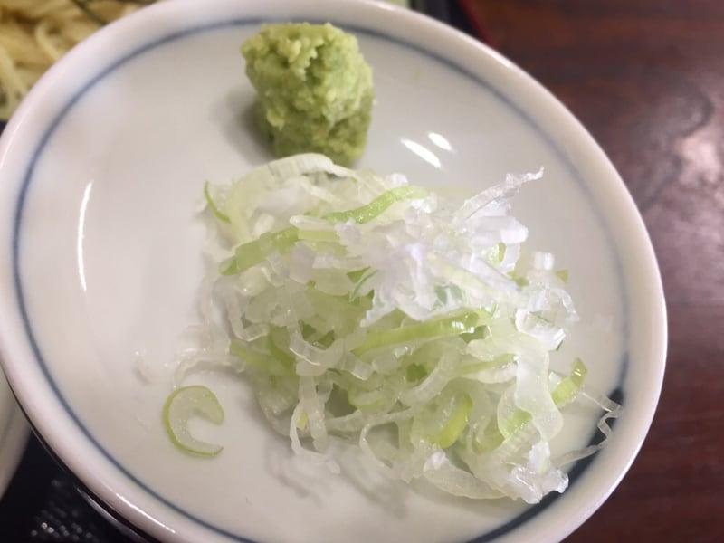 居酒屋・お食事 千代 秋田県横手市大森町 ざる中華 具 薬味