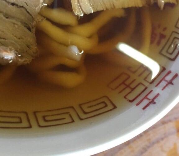 丸海鳴海中華そば店 青森県青森市 そば スープ