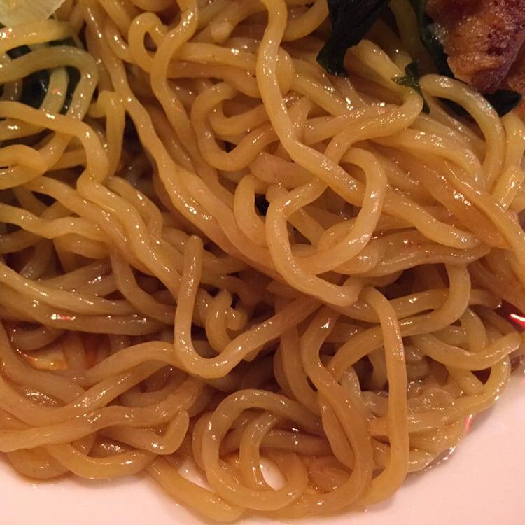 中華美食 小金龍 茨島店 秋田市茨島 油そば 麺