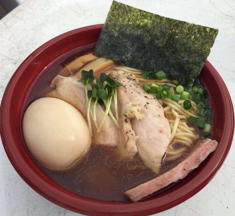 おおまがり大ラーメンフェス2018 麺SAMURAI 桃太郎 岩手県奥州市 奥州いわい鶏三昧 醤油