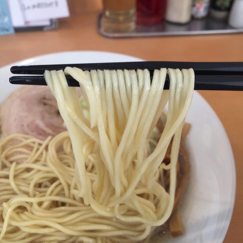自家製麺 麺や二代目 夜来香 秋田市飯島 こってり中華ソバ 麺