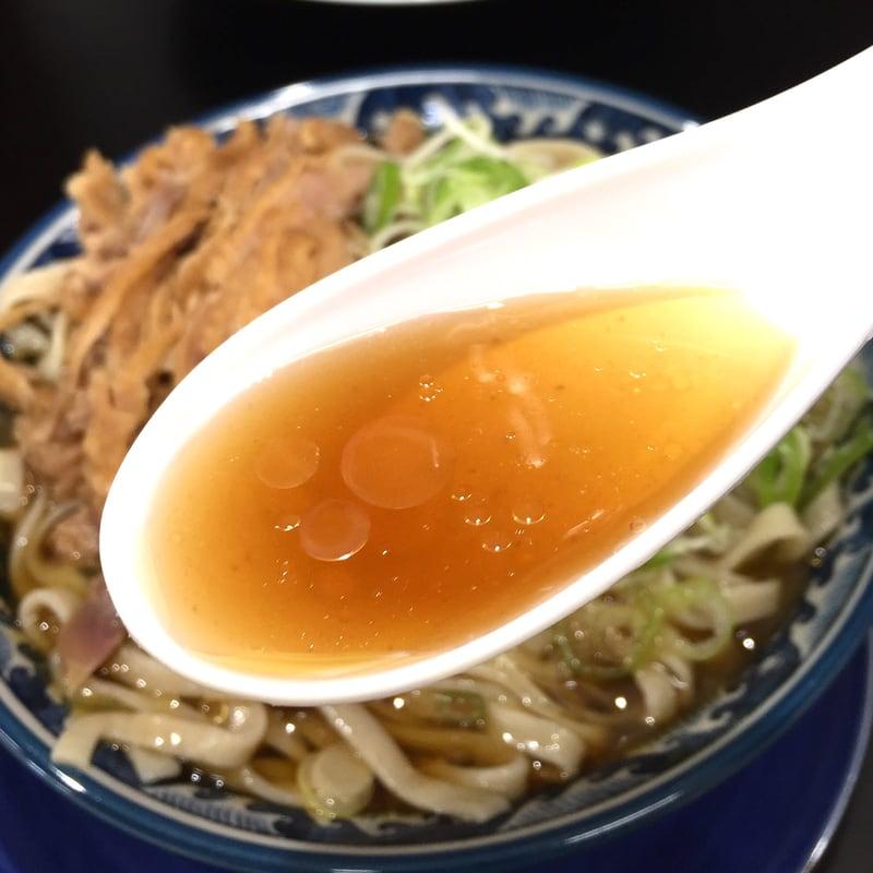 聚楽亭 山形県最上郡金山町 冷たい肉そば 蕎麦 スープ