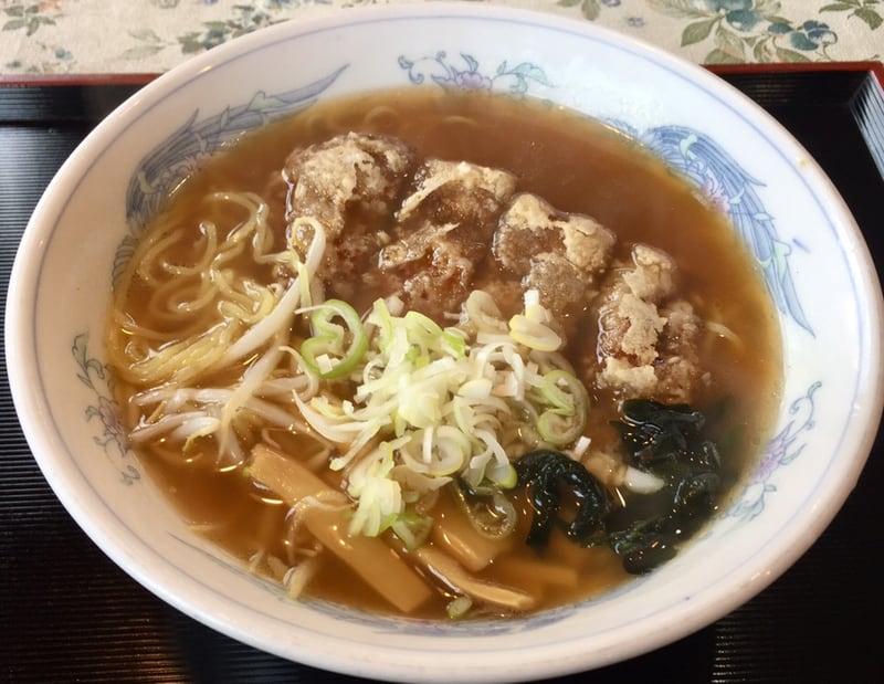 中国料理 天花 秋田市新屋 天花麺 醤油味 ラーメン