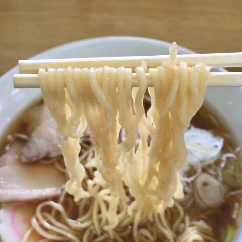 おおもり屋 秋田県横手市大森町 中華そば 麺
