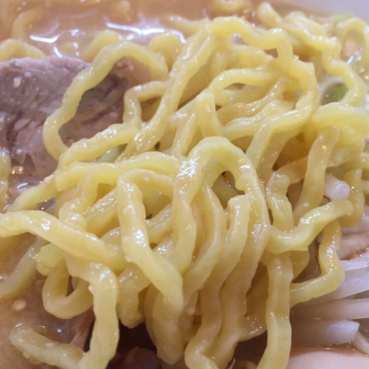 麺屋 権造 秋田市土崎 みそらーめん 味噌ラーメン 麺