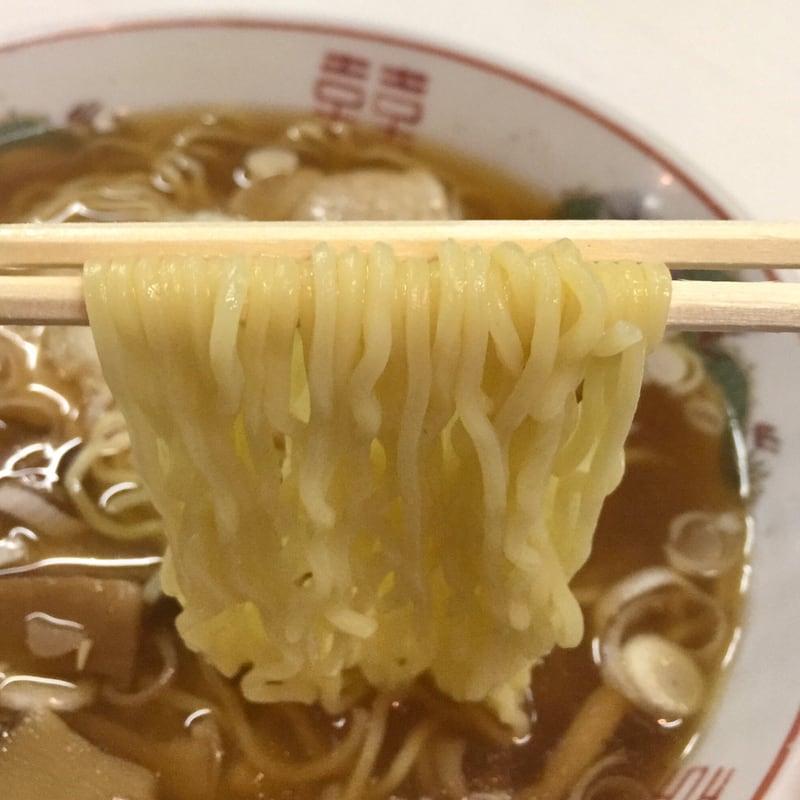 ラーメン寶龍 十文字店 秋田県横手市十文字町 十文字ラーメン 麺
