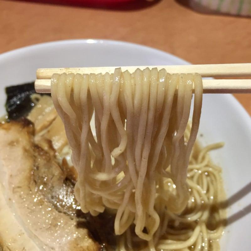 麺家 一鶴 いっかく 富山県富山市 鶏煮干しらーめん 麺