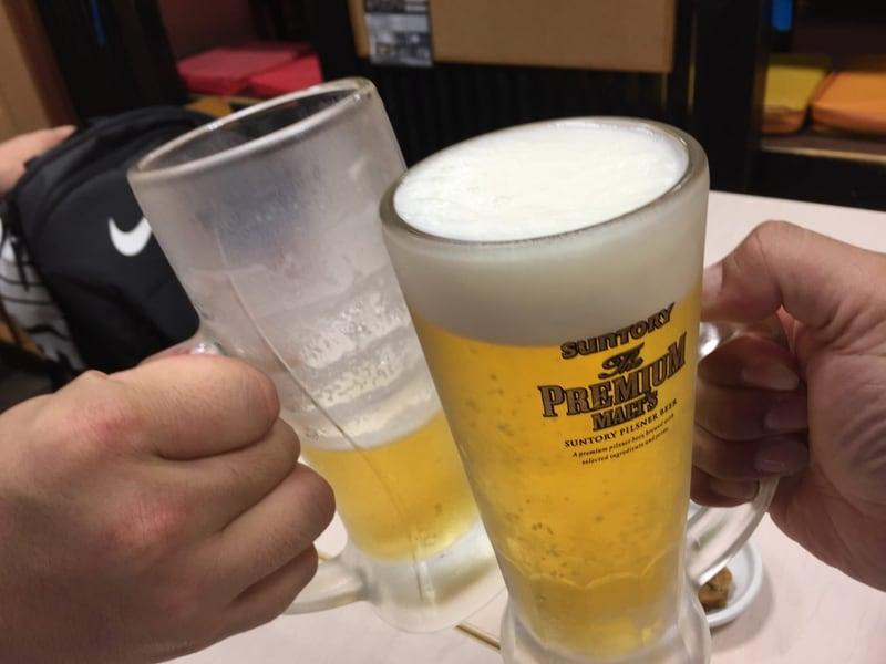 頑固麺飯魂 気むずかし家 長野県長野市 0次会 乾杯