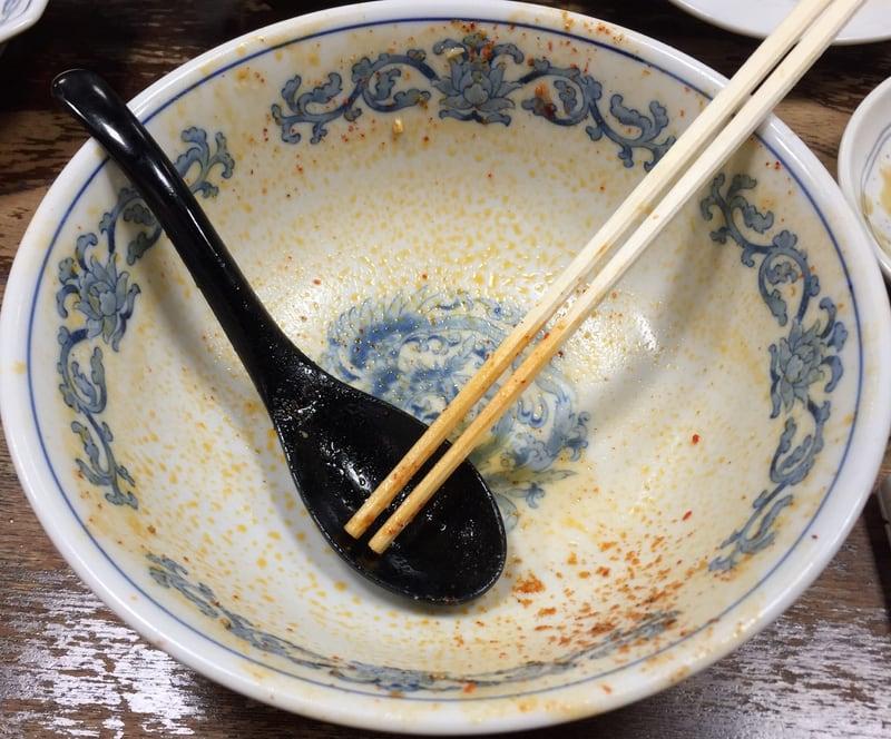 頑固麺飯魂 気むずかし家 長野県長野市 激辛味噌麻婆麺 赤龍王 完食