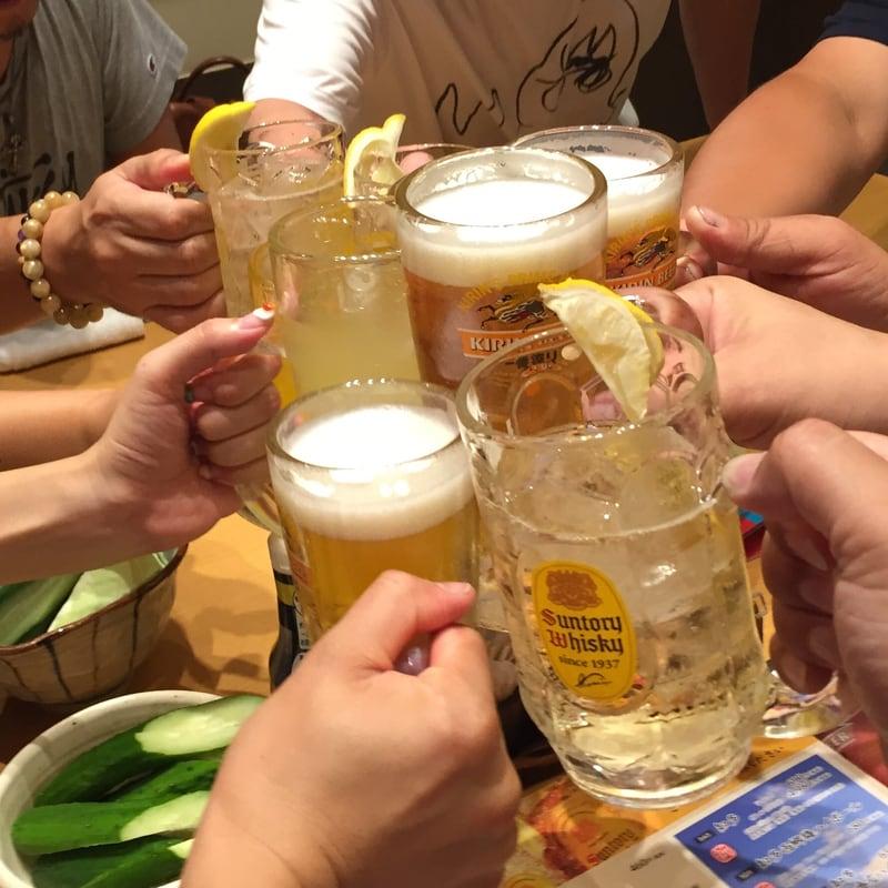 丹波黒どり農場 長野駅前店 長野県長野市 ハイボール 乾杯