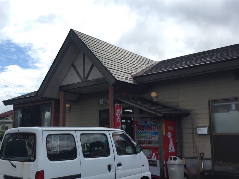 食堂ミサ 本店 新潟県妙高市 外観