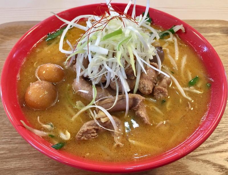 二代目 男寿狼 秋田県横手市 鶏もつ味噌ラーメン