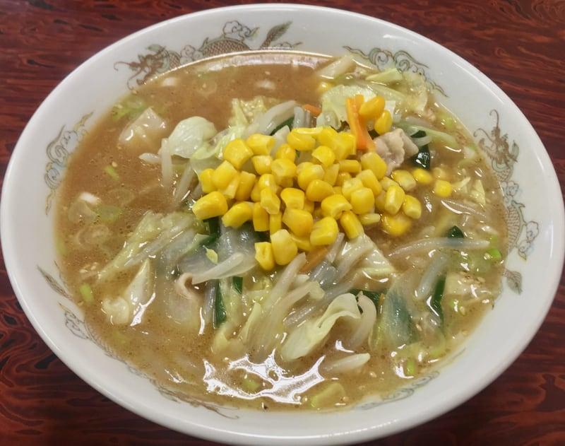 お食事処 春駒食堂 秋田市中通 味噌タンメン