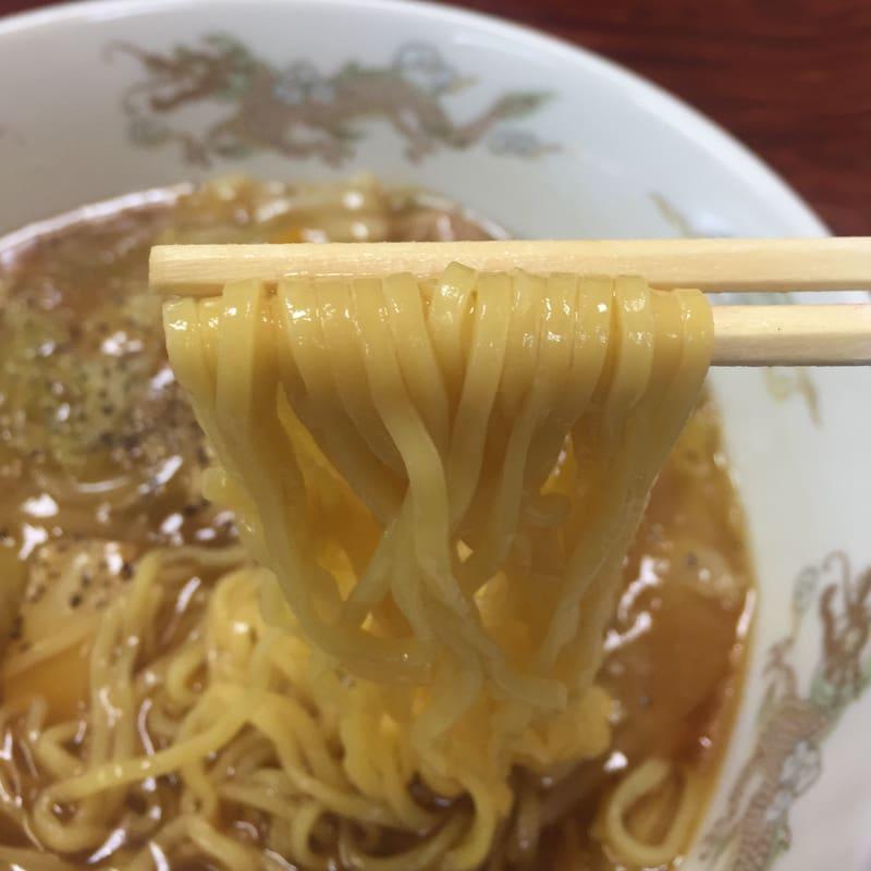 お食事処 春駒食堂 秋田市中通 かんとん麺 広東麺 麺
