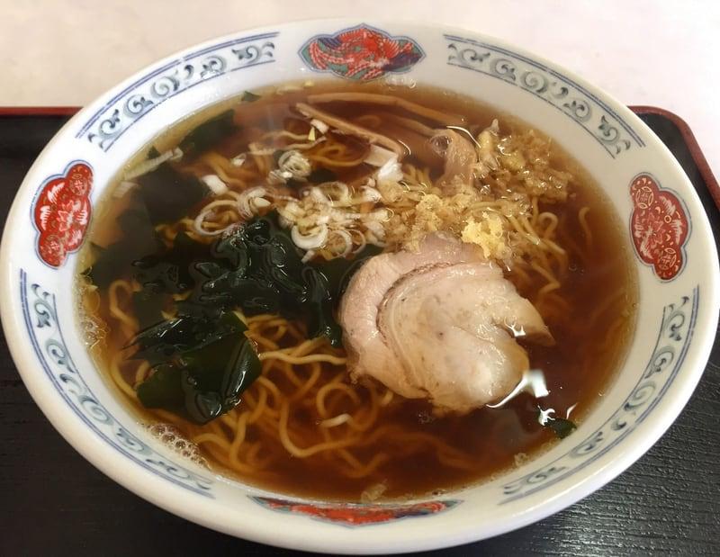 いく代食堂 秋田県大仙市大曲 醤油ラーメン 和風ラーメン