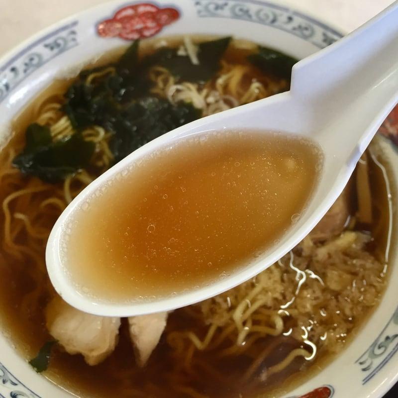 いく代食堂 秋田県大仙市大曲 和風ラーメン 醤油ラーメン スープ