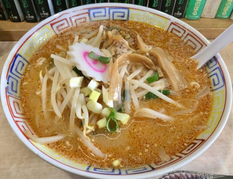 東寿司 秋田県横手市平鹿町 半みそラーメン 味噌ラーメン