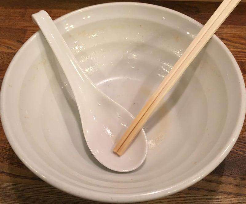 麺屋 信成 福島県郡山市 熟成醤油 完食