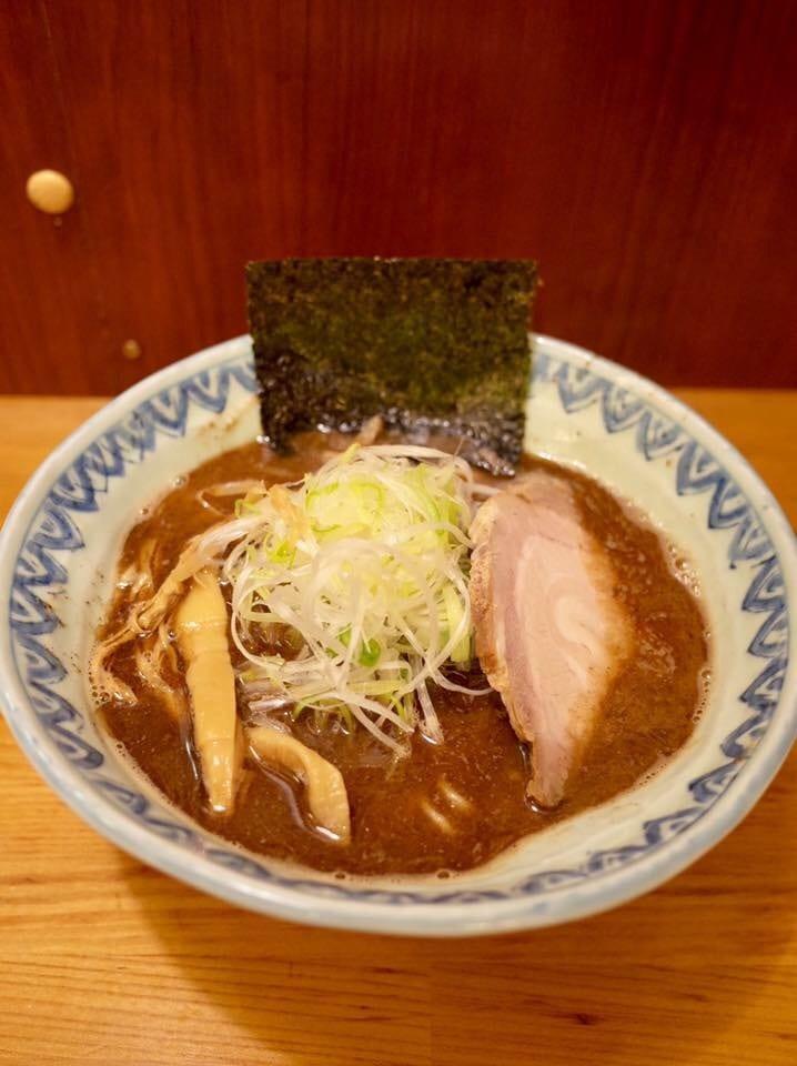 麺屋 蕪村(ぶそん) 長野県長野市 蕪村そば 鶏白湯ラーメン
