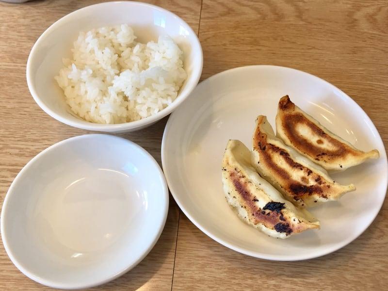 麺屋 北の雫 秋田市広面 焼餃子 小ライス