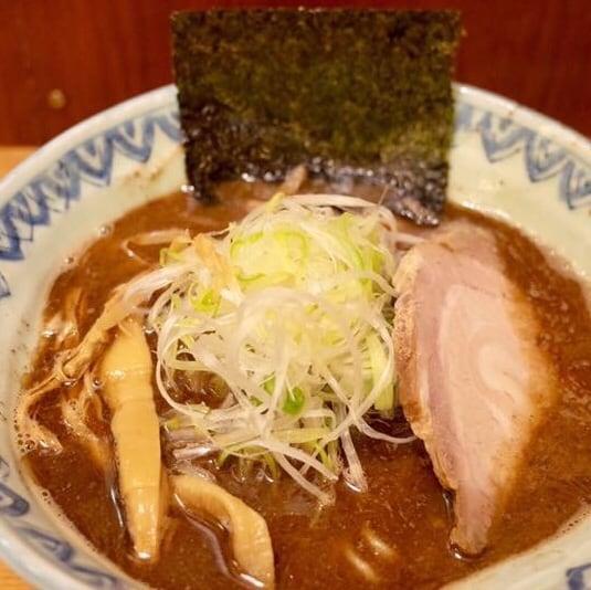 麺屋 蕪村(ぶそん) 長野県長野市 蕪村そば 鶏白湯ラーメン 具
