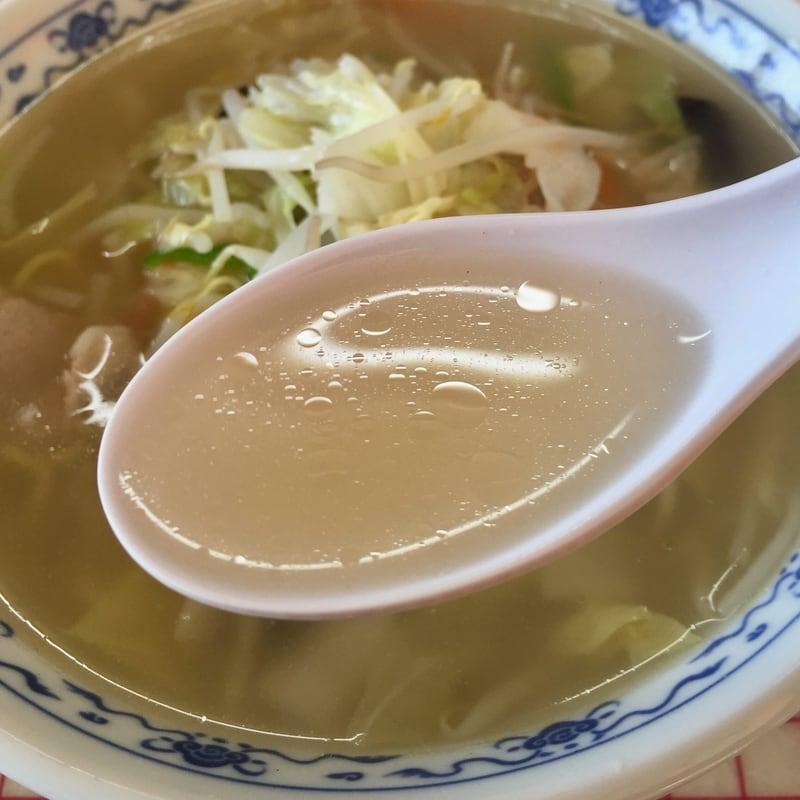 中華料理 横綱 秋田県雄勝郡羽後町 タンメン スープ