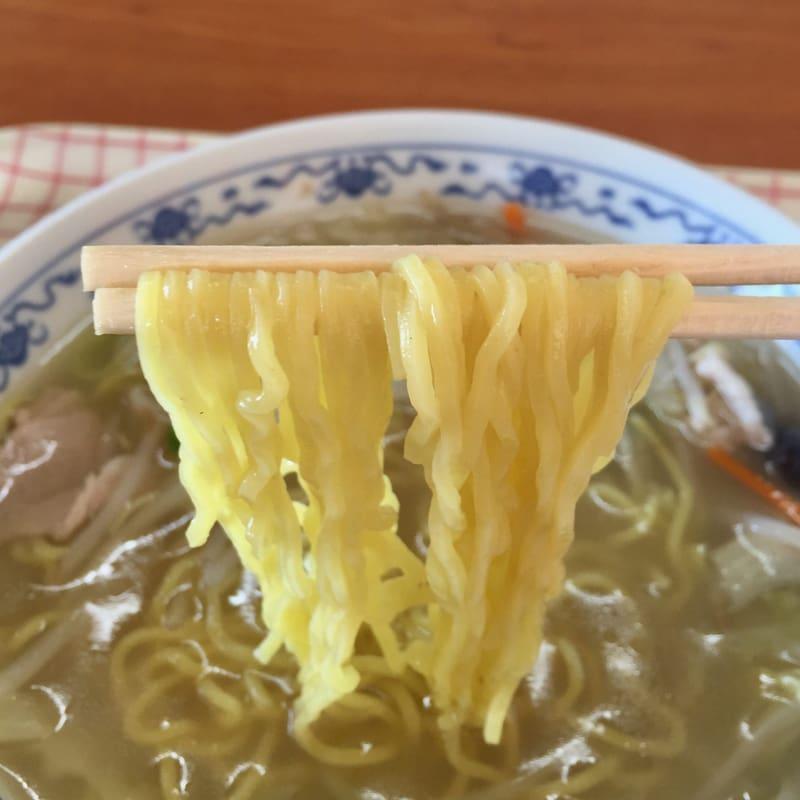 中華料理 横綱 秋田県雄勝郡羽後町 タンメン 麺