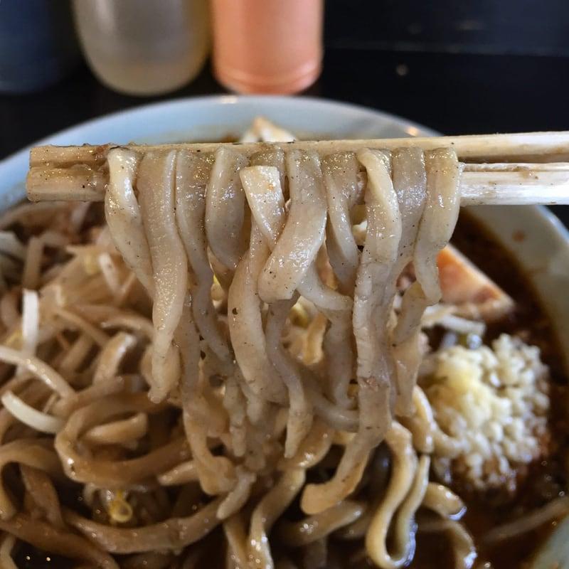 ラーメン マシンガン 秋田市広面 黒ごま担々麺 胡麻 自家製麺