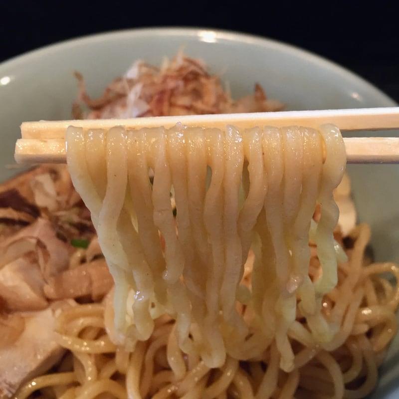 拉麺七海 らーめん七海 秋田市川尻 油そば 麺