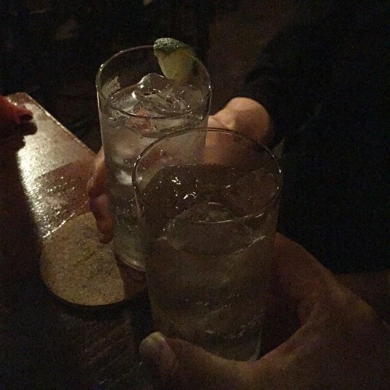 the bar cozy(ザ・バー・コージー) 福島県会津若松市 ハイランドパーク12年 ハイボール 乾杯