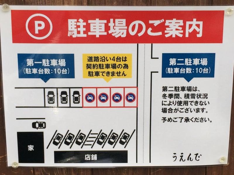 うえんで 福島県会津若松市 駐車場案内