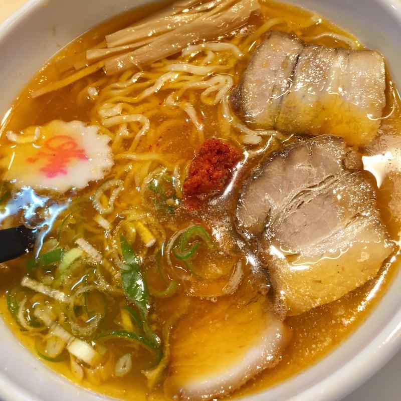 中華そば めでたいや 福島県会津若松市 辛味噌 辛みそ中華そば 具