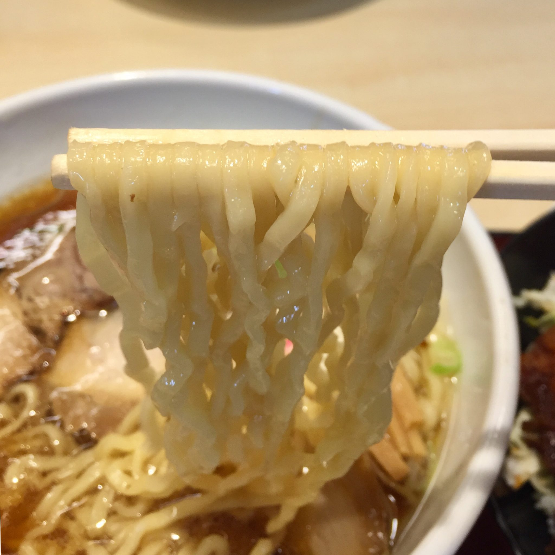 中華そば めでたいや 福島県会津若松市 中華そば 麺