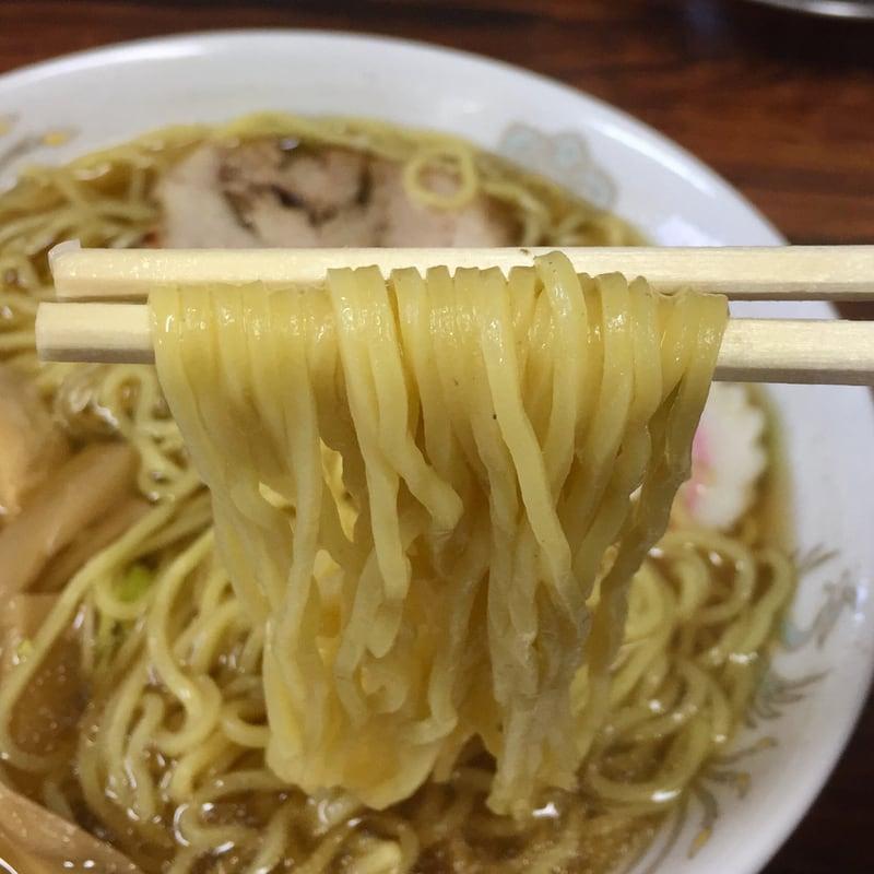 小安郷温泉 たむら屋 秋田県湯沢市皆瀬 らーめん しょう油 醤油ラーメン 麺