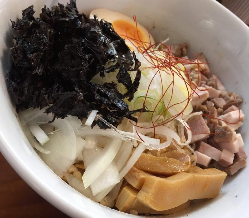 麺屋まるか守破離 秋田市泉 海苔塩油そば 具