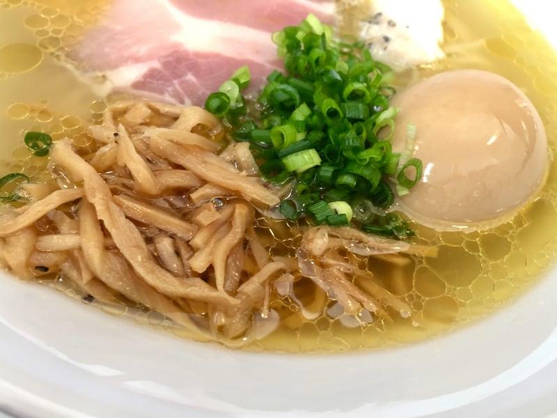 麺屋 満開 秋田市広面 塩 塩ラーメン 具