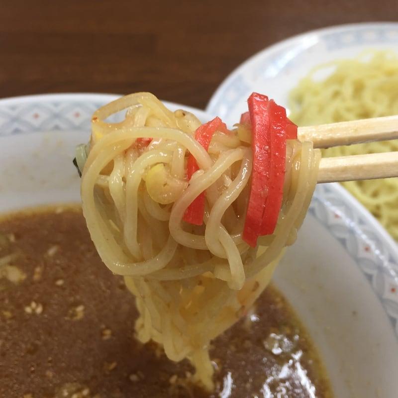 ラーメン五番 秋田市山王 つけめん 味噌 麺
