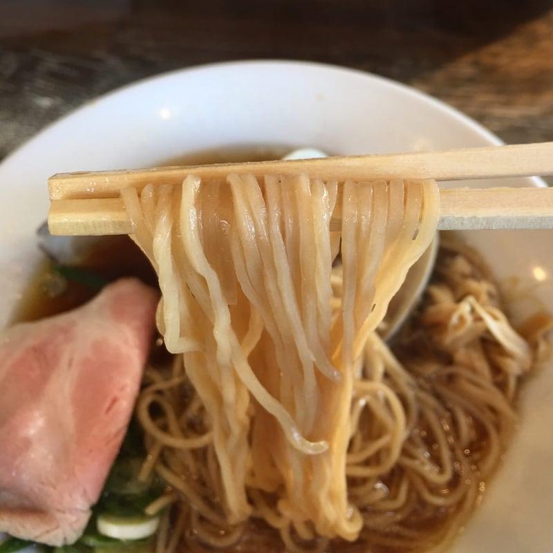 ラゥメン大地 秋田市東通 醤油らぅめん 醤油ラーメン 麺
