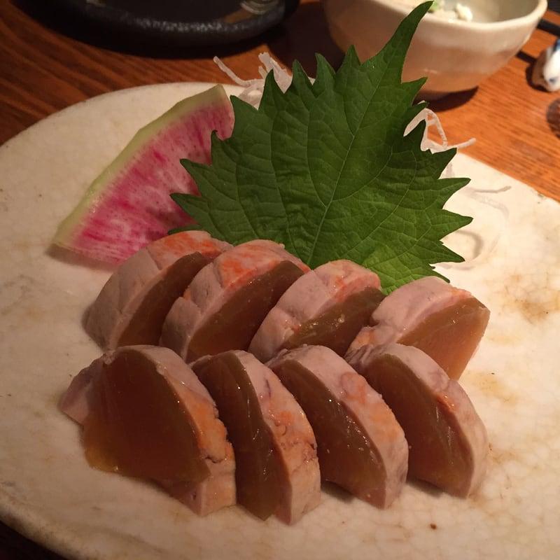 小さなくらのすけ 東京都中央区銀座 あん肝と奈良漬のミルフィーユ仕立て