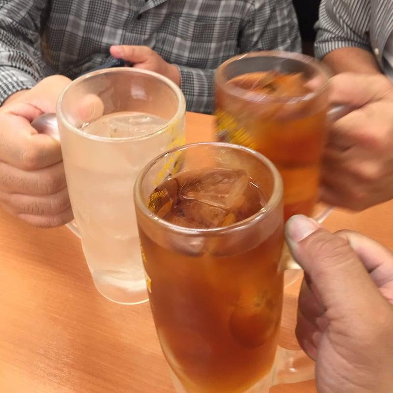 日高屋 新橋烏森通店 東京都港区新橋 ウーロンハイ 乾杯