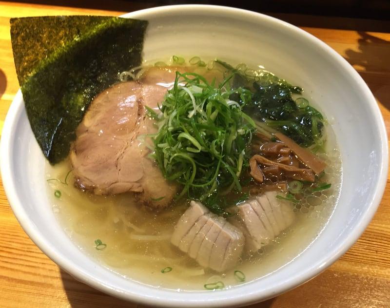 ラーメン巌哲 東京都新宿区西早稲田 鮪塩 しびしお