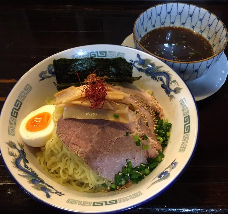 ゆぎ屋 秋田市中通 つけ麺(魚だし)