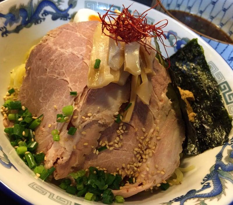 ゆぎ屋 秋田市中通 つけ麺(魚だし) 具