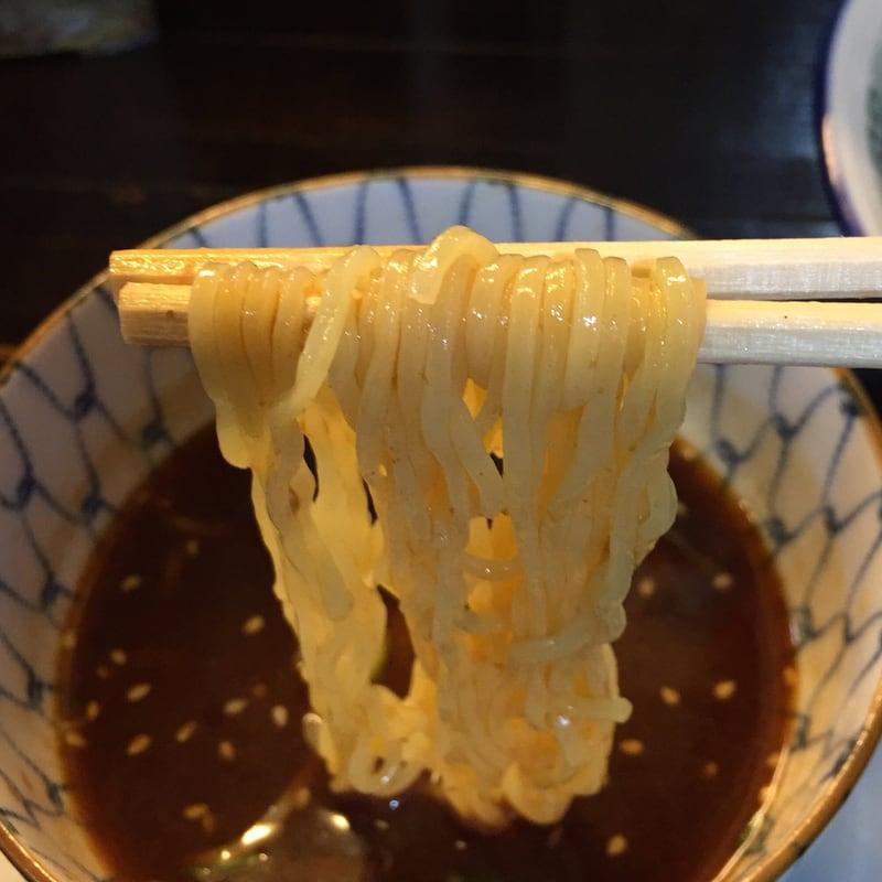 ゆぎ屋 秋田市中通 つけ麺(魚だし) 麺