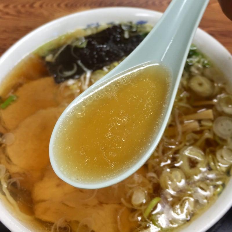 双葉食堂 福島県南相馬市 ラーメン スープ