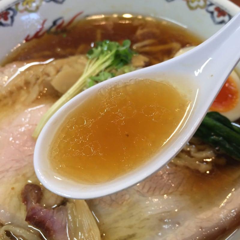本格手打中華そば 味楽 福島県石川郡平田村 白河手打ち中華そば 白河ラーメン スープ