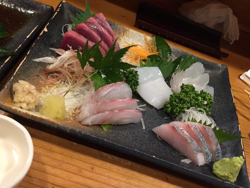 和楽 魚菜亭 福島県いわき市平 刺身おまかせ盛合わせ