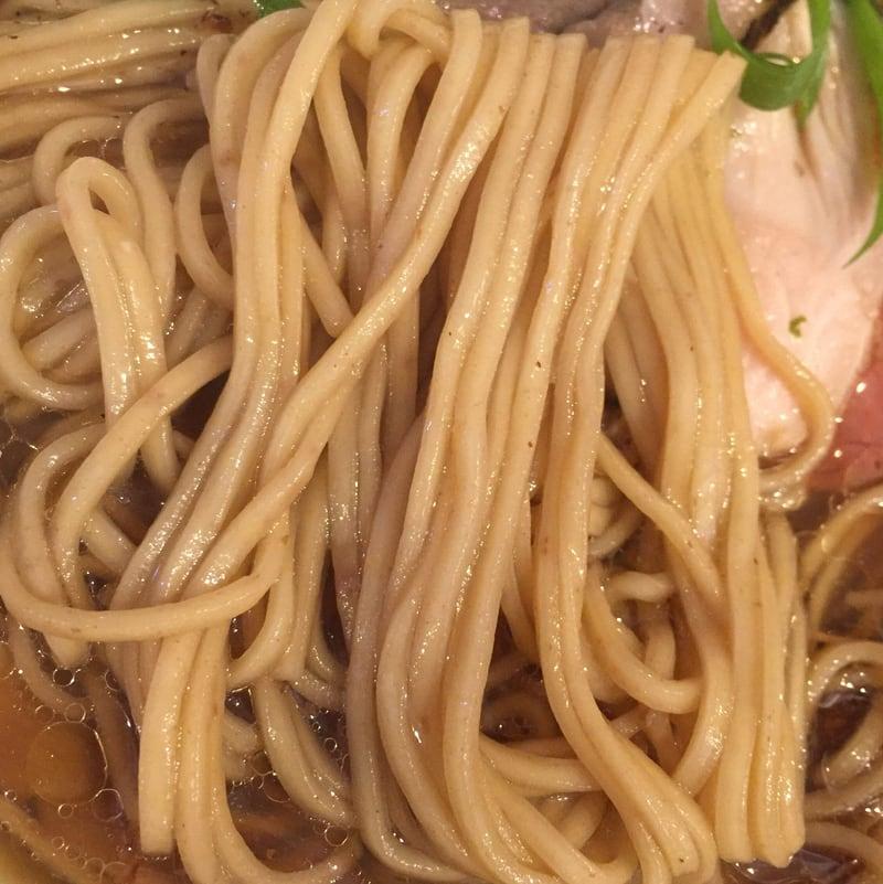 中華そば 先崎 まつさき 茨城県水戸市 出し醤油ソバ 醤油ラーメン 麺
