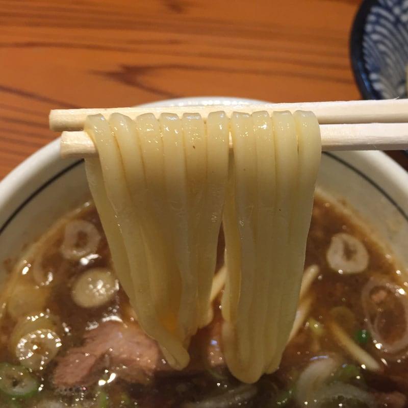 麺一直 茨城県水戸市 つけそば醤油 自家製麺